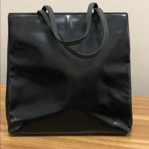 Vintage Prada Leather Tote